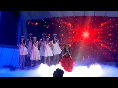 download lagu Because You Loved Me By Sharon Spekta 7 Idol Junior gratis