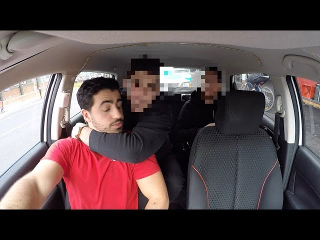 Uber Driver Forced to Help Robbery Getaway Uber