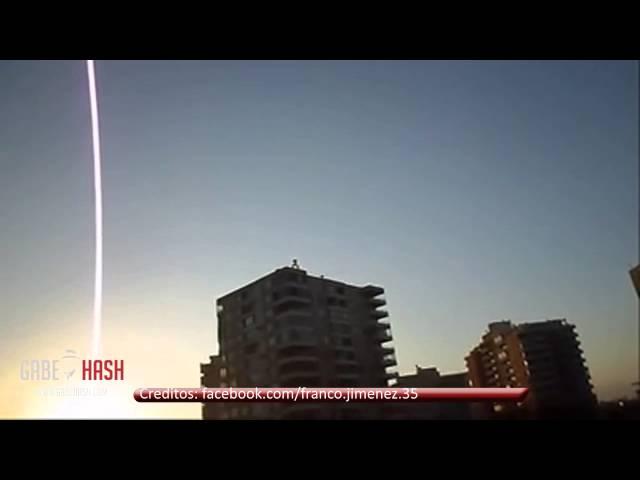 EXTRAÑOS SONIDOS SE ESCUCHAN EN SANTIAGO, CHILE 29 DE OCTUBRE 2013