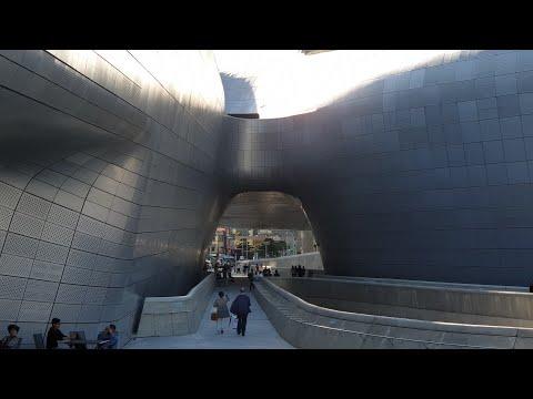 서울의 세계적 건축물-'곡선의 여왕'이 설계한 DDP