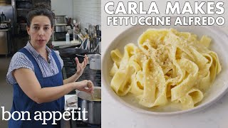 Carla Makes BA's Best Fettuccine Alfredo | From the Test Kitchen | Bon Appétit