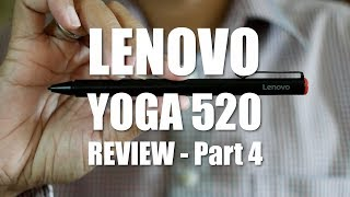 Lenovo Yoga 520 (Flex 5) Review Part 4  - The Active Pen
