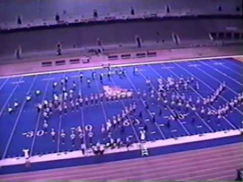 Centennial High School Marching Band 1998