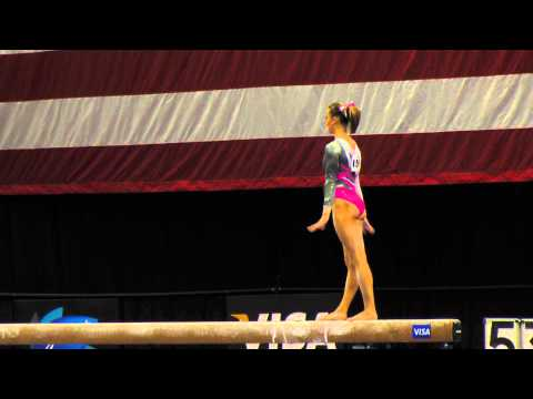 Amanda Jetter -- Balance Beam -- 2012 Visa Championships -- Sr. Women -- Day 1