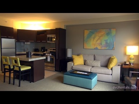 BAY LAKE TOWER at Disney's Contemporary Resort - ROOM TOURS - Studio. 1 and 2 Bedroom Lock Off