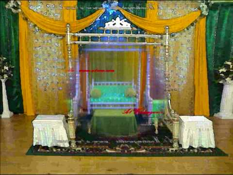 Wedding Stages Decoration and mehndi stages for Asian weddings