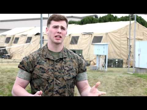 Marines learn combat operations