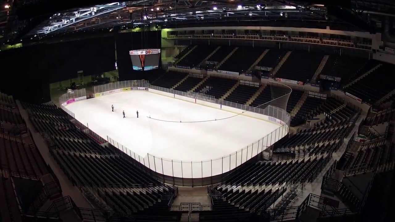 Motorpoint Arena Ice Timelapse
