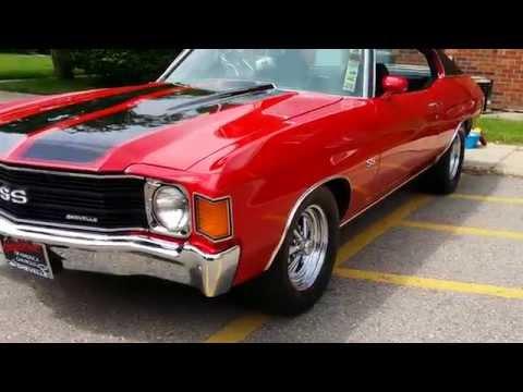 1972 Chevy Chevelle SS auto appraisal Lapeer Davison Michigan