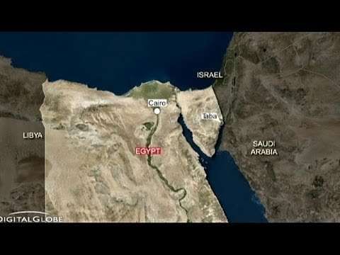 At least three killed in Egypt bus blast near Israel border