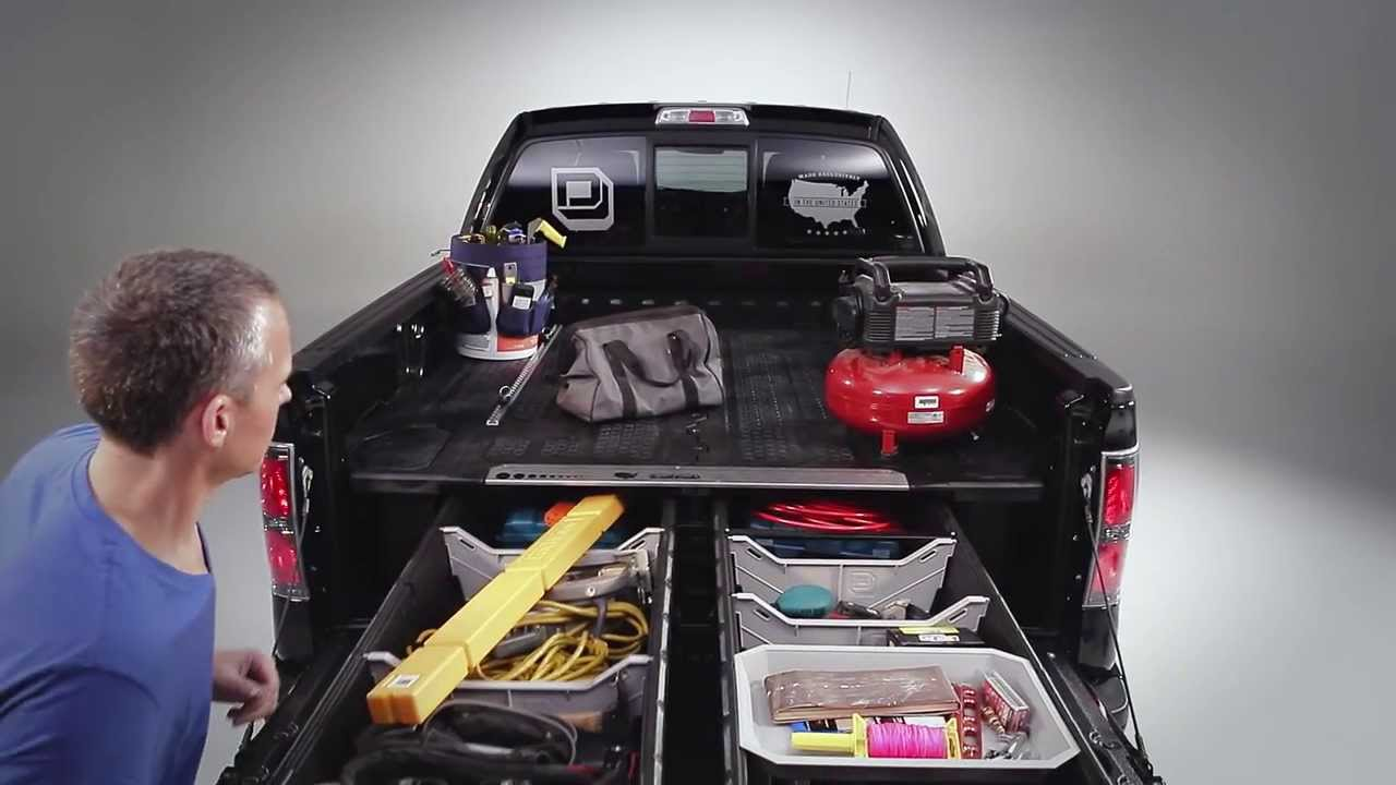 Decked Truck Bed Storage System Youtube