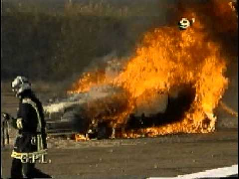 Car with LPG tank on fire? What will happen?
