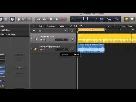 Setup Chord Progressions in Logic Pro X using Apple Loops
