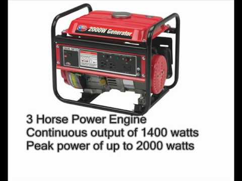All Power America APG3014 2.000 Watt 4-Stroke Gas Powered Portable Generator