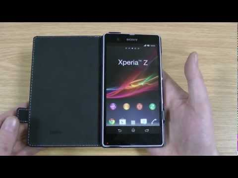 Official Sony Xperia Z Flip Case Review - Roxfit Made for Xperia