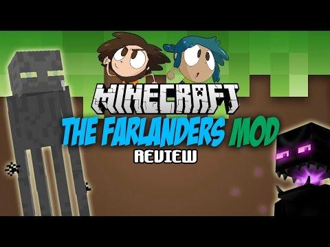 THE FARLANDERS MOD 1.7.10  MAS Y MEJORES ENDERMAN   Minecraft REVIEW EN ESPAÑOL