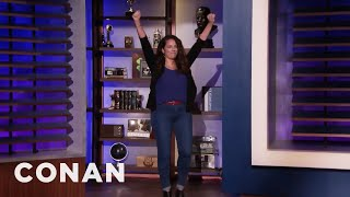 "Sona Finishes Her ""Friends"" Marathon - CONAN on TBS"