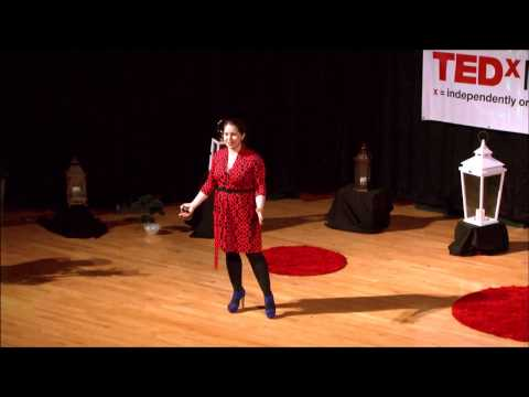 Spreading the conversation about mental health: Aileen Tartanian at TEDxIthacaCollege