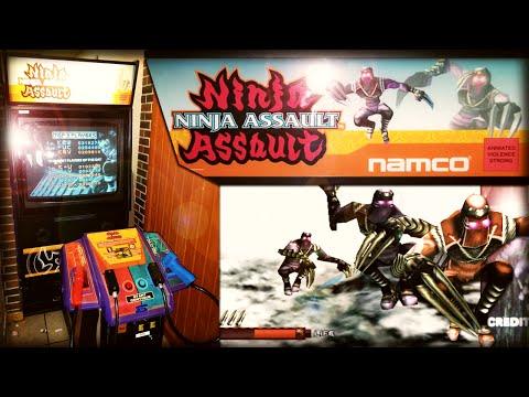 Аркадный автомат Ninja Assault