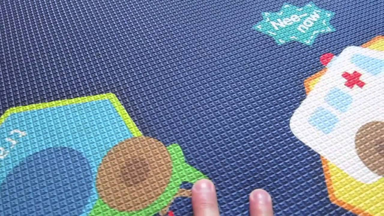 baby play mat dwinguler baby play mat reviews youtube. Black Bedroom Furniture Sets. Home Design Ideas