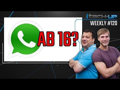 Whatsapp & Facebook AB 16?   Neue Intel-CPU-LÜCKE   Guild Wars 2 nutzt Spyware - Tech-up Weekly #120