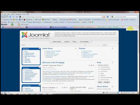 Joomla Front End Editing