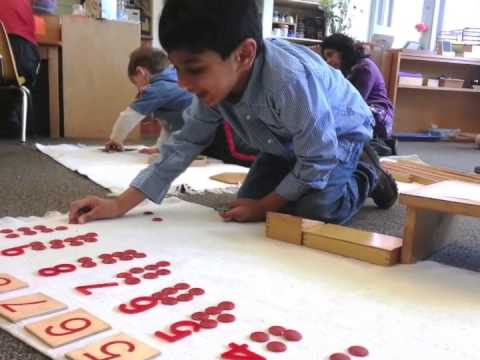 Glimpse of Montessori - The Cherry Blossom Montessori School