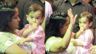 Salman Khans CUTE Nephew AHIL Dancing At Ganesh Visarjan 2017