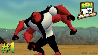 Ben 10: Protector of Earth - PSP Playthrough 1080p Grand Canyon  (PPSSPP) PART 1