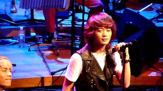 100201 SHINee @ Oh Joonsung Drama Concert - Stand By Me