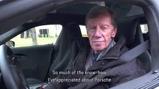 2019 Electrical Porsche car Taycan Tried on road