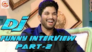 Allu Arjun and Pooja Hegde Funny Interview Part 2 - DJ Duvvada Jagannadham | #DJ