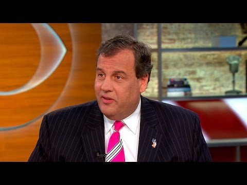 Gov. Chris Christie on successful election night for GOP
