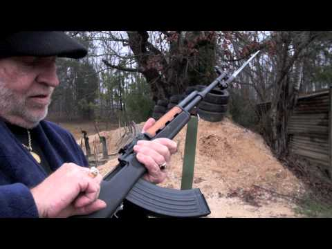 Shooting Norinco SKS With AK-47 Mag & Folding Stock