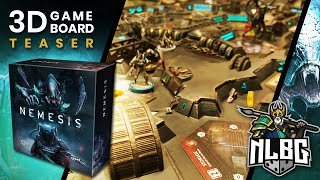Nemesis 3D Board Game Teaser