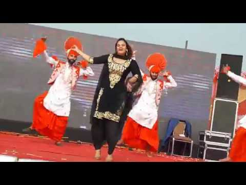 Phulkari  Kaur B  Punjabi Dancer 2016   YouTube