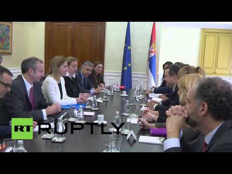 Serbia: Mogherini meets Serbian PM and FM on Belgrade visit