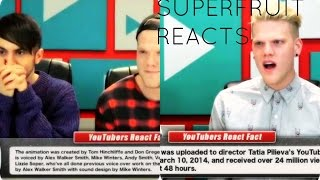 Super Fruit Reacts ( Fine Brothers )