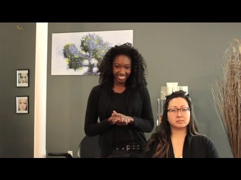 How to Curl Your Hair With a Chi Flat Iron : Curly Hair & Styling Tips