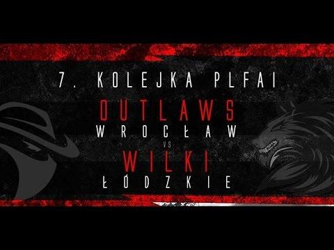 Transmisja Meczu Wroclaw Outlaws - Wilki Łódzkie - Cały Mecz