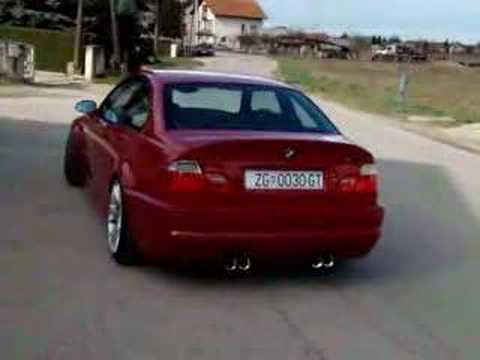 SKN E46 M3 Milltek cat-back exhaust