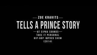 Zoe Kravits Tells A Prince Story