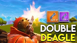 DOUBLE DEAGLE! - Fortnite: Battle Royale (Hand Cannon Gameplay)