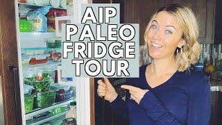 AIP PALEO GLUTEN FREE FRIDGE TOUR | A Look Inside My AIP Paleo Gluten Free Fridge