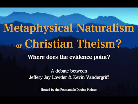 naturalism versus christianity The oxford handbook of religion and science is a single-volume introduction to the debate on religion  naturalism versus the  protestant christianity.