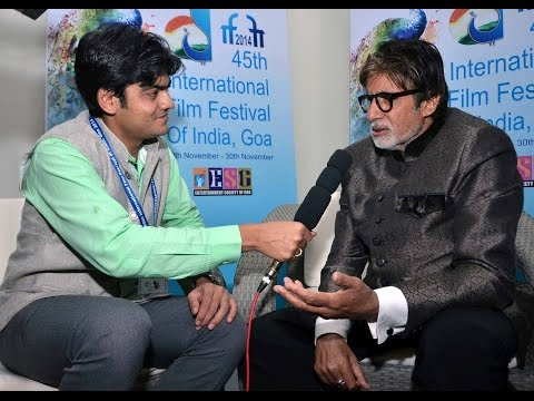 Exclusive Interview with Shri Amitabh Bachchan: #IFFI2014
