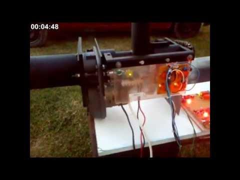 Homemade Pellet burner