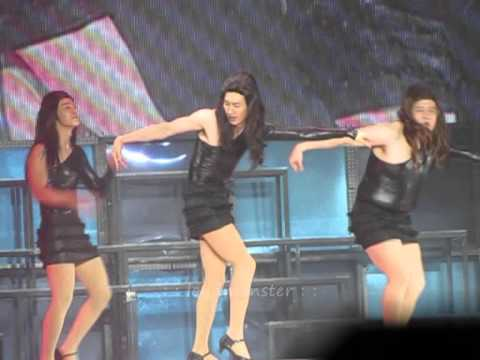 [Fancam] 110130 Super Show 3 Singapore - Lady HeeHee & Single Ladies