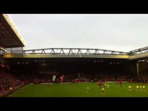 Anfield - You'll Never Walk Alone (Liverpool-Norwich 5-0 19/01/2013)