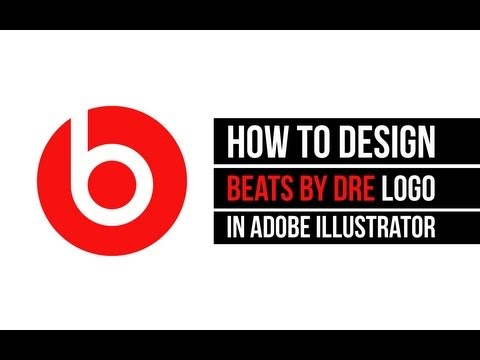 How to create Beats by Dre logo in Adobe Illustrator